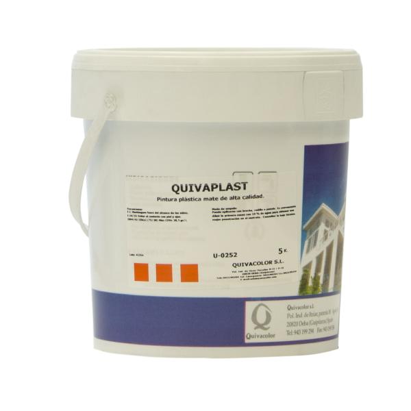 Quivaplast pintura pl stica mate alta calidad interior y exterior - Mejor pintura plastica ...