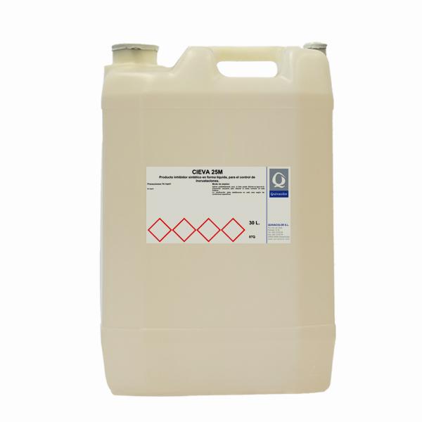 Cieva 25 m inhibidor para el control de incrustaciones for Protector de pintura