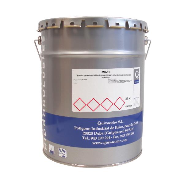 Mr 10 mortero cementoso fluido sin retracci n fabricante for Mortero sin retraccion
