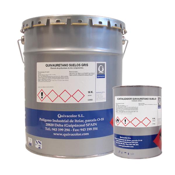 Quivauretano suelos esmalte de poliuretano 2 componentes - Pintura para suelos ...